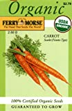 Search : Ferry-Morse 3028 Organic Carrot Seeds, Scarlet Nantes Type (2.5 Gram Packet)
