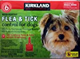 Kirkland Signature Water Resistant 6-Month Flea & Tick Control for Small Dogs, 6-12 lbs.