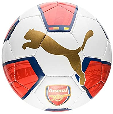 2015-2016 Arsenal Puma Fan Mini Football (White-Red-Blue)