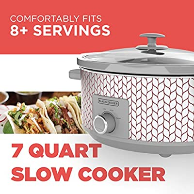 Black & Decker Slow Cooker, 7 Quart