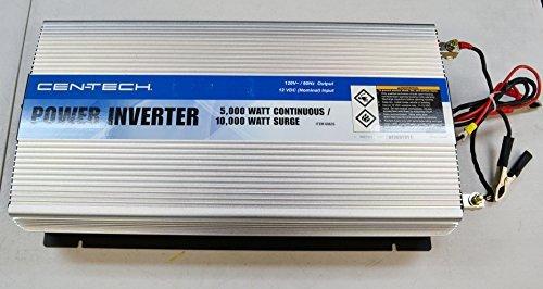 Cen-Tech 60635 5000-Watt Continuous/10,000-Watt Peak Power Inverter (5000 Watt Power Inverter compare prices)
