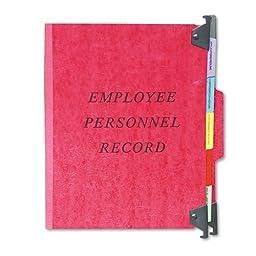 Pendaflex - Hanging Personnel Folders, 1/3 Cut Top Tab, Letter, Red SER-2-ER (DMi EA by Pendaflex