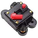 12V 200A Circuit Breaker Fuse Holder Car Audio Stereo Mount on Panel Firewall