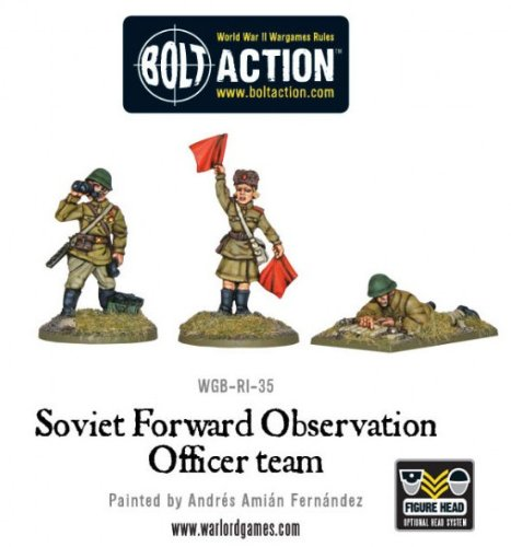 Soviet Forward Observer Officers Foo Miniatures