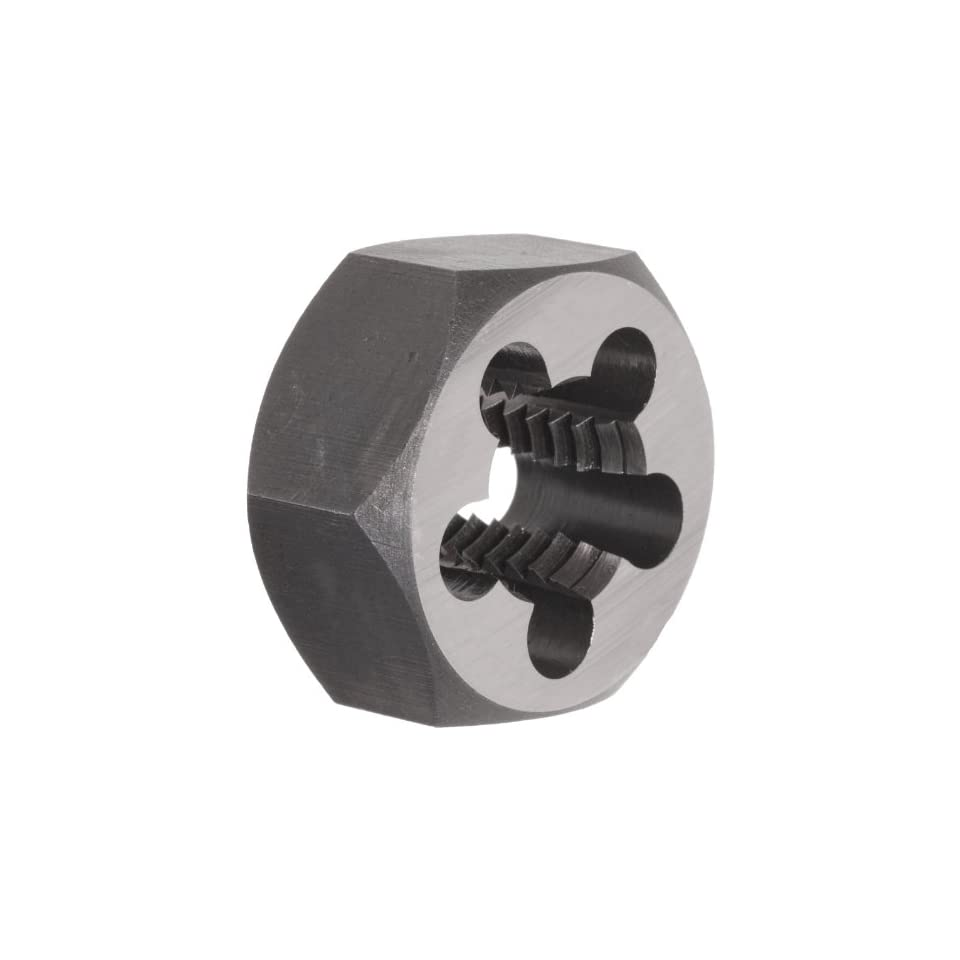 UNC Carbon Steel Hexagon Threading Die 5//8-11 Thread Size Finish Uncoated Union Butterfield 2025 Bright