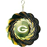 "10"" MLB Official Green Bay Packers Logo Psychedelic Spinning Wind Ornament at Amazon.com"