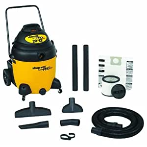 Shop-Vac 9622000 20-Gallon 12-AMP Ultra Pro SR Wet/Dry Vacuum