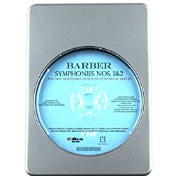 American Heritage Barber: Symphonies Nos. 1 & 2 - 7.1 DTS-HD 3D Sound Blu-ray Audio Signature Series