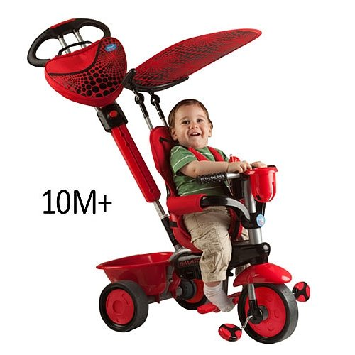 smart trike 3 in 1 tricycle lady bug kids bikes cheap. Black Bedroom Furniture Sets. Home Design Ideas