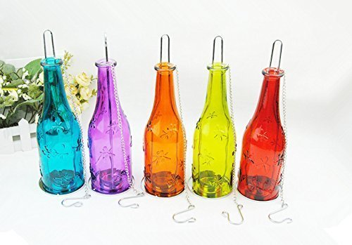 Telight Bottle Shape Candle Dia Holder Decoration Lamp Diwali Festival Hanging Light Lantern
