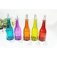 Telight Bottle Shape Candle Dia Holder Decoration Lamp Diwali Festival Hanging Light Lantern