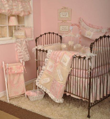 Cotton Tale Designs 8 Piece Bedding Set, Heaven Sent Girl