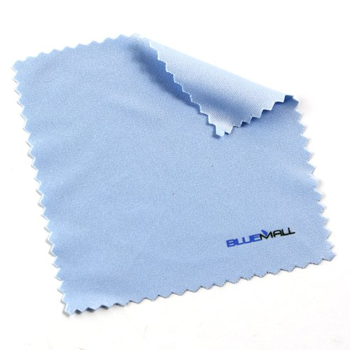 Birugear Blue Microfiber Cleaning Cloth For Electronic Devices, Cell Phones, Digital Cameras, Lens, Tvs, Ipod, Ipad, Iphone, Glasses, Sunglasses, Blackberry, Nokia, Droid, Xoom, Dell, Hp, Sumsang, Lg, Cannon, Nikon, And Others.
