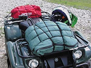 "Keeper 06143 Motorcycle/ATV Cargo Net, 15"" x 15"" with 6 Hooks by Keeper"