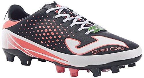 Joma Super Copa - Scarpe da calcio da uomo, colore nero / corallo.  Taglia 42