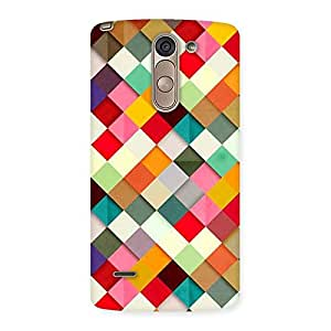 Gorgeous ColorFull Ribbons Print Back Case Cover for LG G3 Stylus