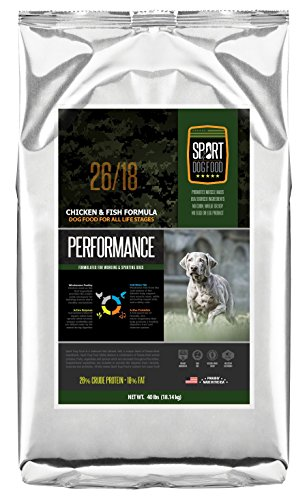SportDogFood Canine Athlete Dog Food, Performance Recipe 26/18, 40-Pound