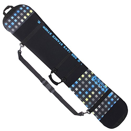 VAXPOT(バックスポット) ソールカバー スノーボード用 ツートン:CHECK-LIMxBLU Lサイズ(150~165cm) VA-3406
