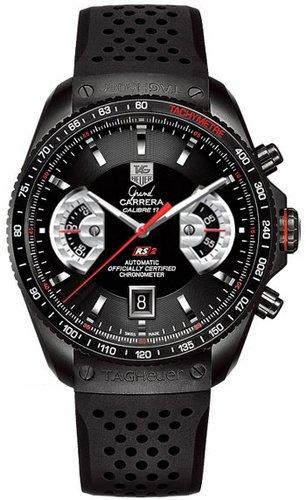 TAG Heuer Men's CAV518B.FT6016 Grand Carrera Automatic Chronograph Watch