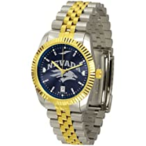 "Nevada Wolf Pack NCAA AnoChrome ""Executive"" Mens Watch"