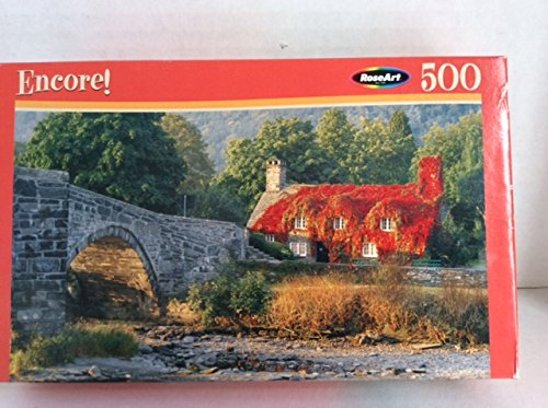 Cottage in Wales - 500 Pc. Jigsaw Puzzle - 1