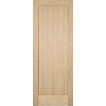 "Green Tree Doors Oak Shaker 1 Panel Internal Door (762mm (30""))"