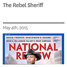 The Rebel Sheriff (       UNABRIDGED) by Charles C.W. Cooke Narrated by Mark Ashby