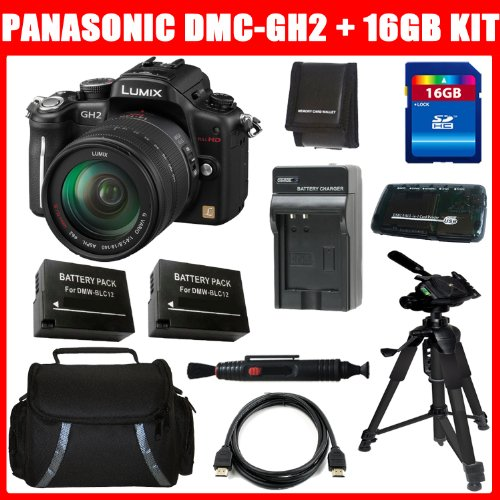 Buy Panasonic Lumix DMC-GH2 16.05 MP Live MOS Interchangeable Lens Camera