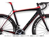 KUOTA(クォータ) 2016 K-UNO(クノ) ロードフレームセット ブラック×レッド L(530) 6S80306144081