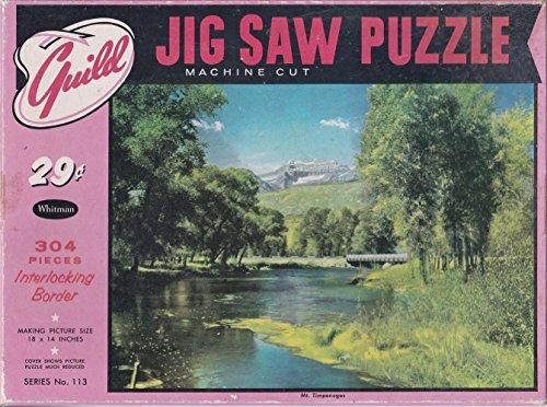 "Guild 304 Piece Jigsaw Puzzle Mt. Timpanogos 18"" x 14"" - 1"