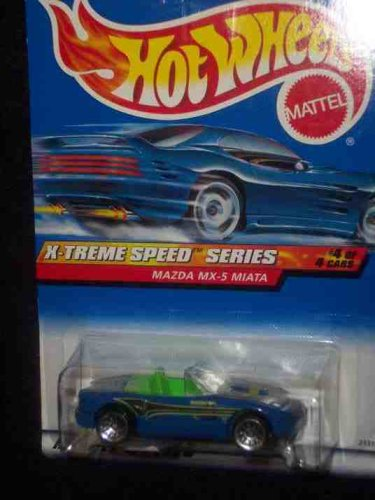 X-Treme Speed Series #4 Mazda MX-5 #968 Mint by Hot Wheels - 1