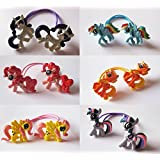 Girls Kids Childrens My Little Pony Hair Ponies Elastic Bobbles Accessories