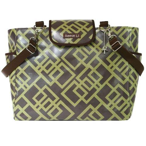 Woodland Geo Lexington Diaper Bag front-865178