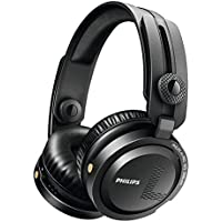 Philips A1PRO/27 Over-EarWired Professional DJ Headphones (Black)