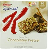 Special K Bars, Chocolatey Pretzel, 6-Count Bars Net Wt 4.6 Oz  (Pack of 6)