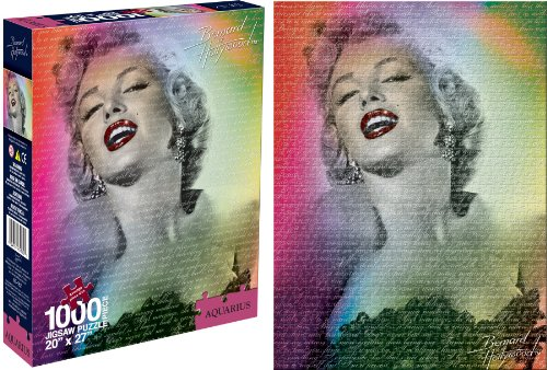 Marilyn Monroe Puzzle Bernard of Hollywood, 1000 pezzi