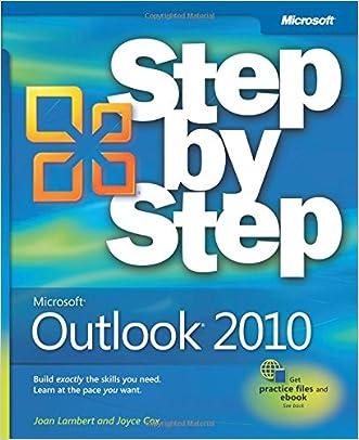 Microsoft Outlook 2010 Step by Step written by Joan Lambert