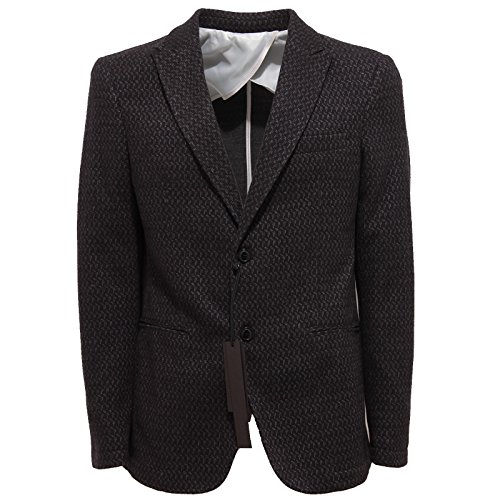 3317Q giacca uomo nero GAUDI' UNCONVENTIONAL PEOPLE jacket men [48]