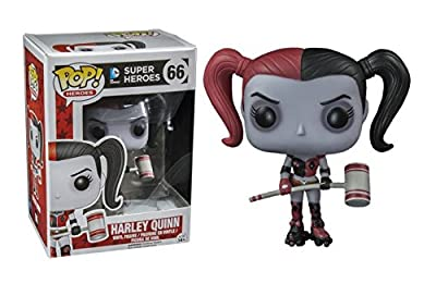 Funko POP Heroes: Harley Quinn ROLLER DERBY W/ Mallet HOT TOPIC EXCLUSIVE #66 by Funko