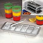 RETRO ALUMINUM ICE CUBE TRAY