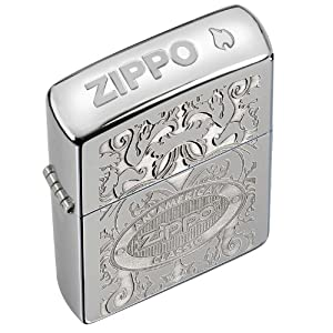 Zippo Crown Stamp, High Pol. Chrome, Multi-Dimen Highlights