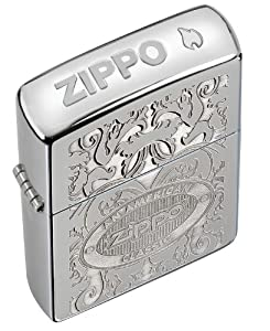 Zippo Crown Stamp with American Classic Lighter by Zippo