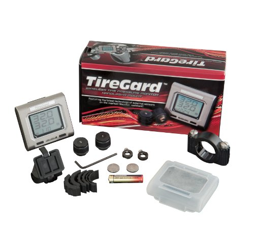 Tiregard 13-318 Handlebar Mount Tire Pressure Monitoring System back-75301