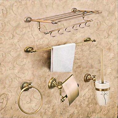 SHENCHI Set di accessori per il bagno Ottone anticoOttone Neoclassico