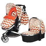 Obaby Chase 3-in-1 ZigZag (Orange)