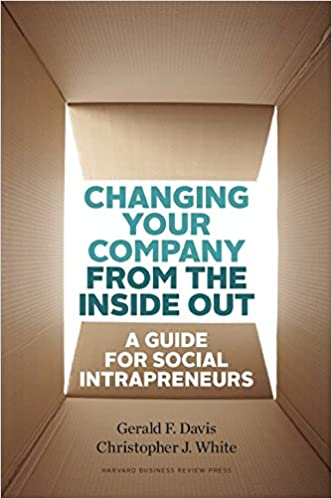 Changing Business From Inside Out Social Intrapreneurship