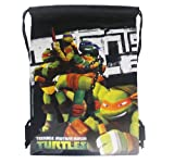 Ninja Turtles Black Drawstring Bags