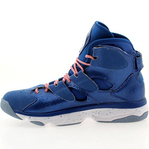 B00RG4UHZG Reebok Shaq Attaq 4 Wrapping Paper Basketball Sneaker Shoe – Impact Blue/White – Mens – 8.5