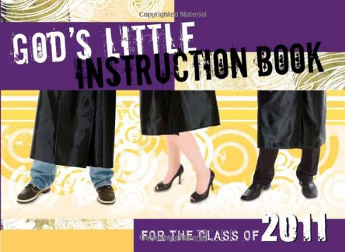 God's Little Instruction Book for the Class of 2011, Cook, David C