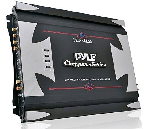 Pyle PLA4120 Amplificateur haute puissance Mosfet à 4 canaux 1000W